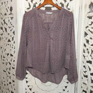 Lush- sheer blouse